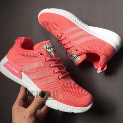 Giày Thể Thao TSEXO Hồng Sọc