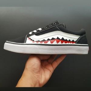 Giày Vans OldSkool Cá Mập