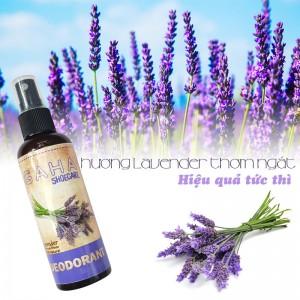 Xịt Khử Mùi Giày Hương Lavender