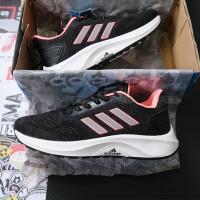 Giày Adidas 3 Sọc Đen Hồng