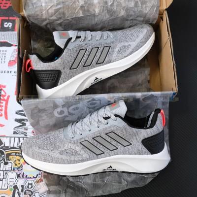 Giày Adidas 3 Sọc Xám