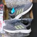Giày Adidas 3 Sọc Xám Xanh