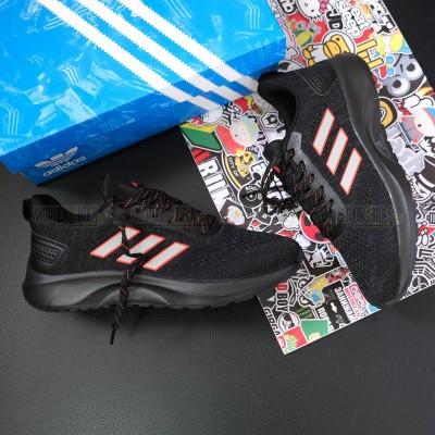 Giày Adidas 3 Sọc Đen Cam
