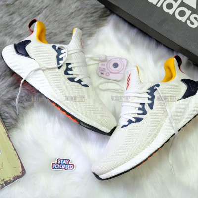 GIÀY ADIDAS ALPHABOOST YELLOW WHITE