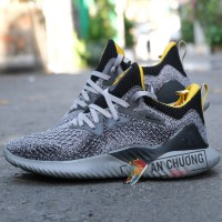 Giày Adidas AlphaBounce Beyond Gray Yellow