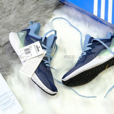 Giày Adidas AlphaBounce Beyond Running Blue Denim