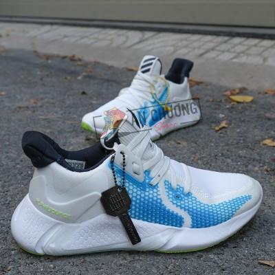 Giày Adidas AlphaBounce Instinct M Trắng Xanh