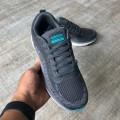 Giày Adidas CloudFoam Xám Xanh