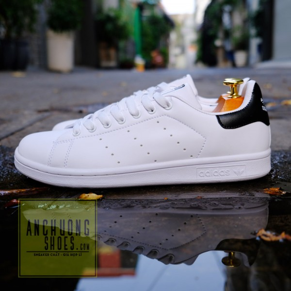 Giày Adidas Stan smith SF Black