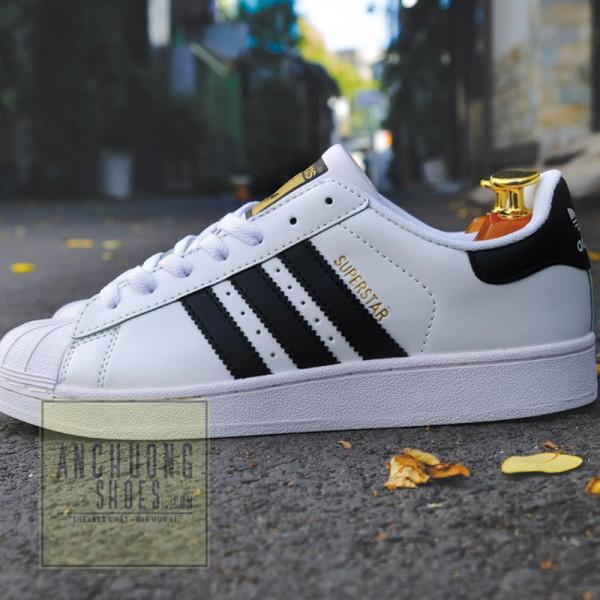Giày Adidas Superstar Gold Logo