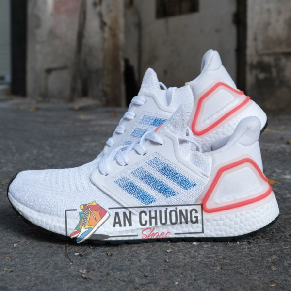 Giày Adidas Ultraboost Primeblue Trắng