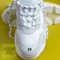 Giày Balenciaga Triple S Rep AllWhite