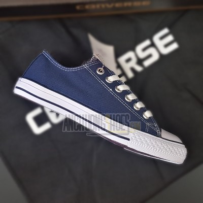 Giày Converse Classic Xanh Navy Cao