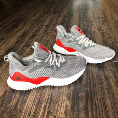 Giày Adidas AlphaBounce Beyond Grey Red