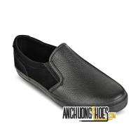 Giày Lười Sutumi All Black Da