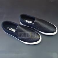 Giày Lười Sutumi Đen Da