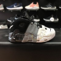 Giày Nike Air More Uptempo White Grey
