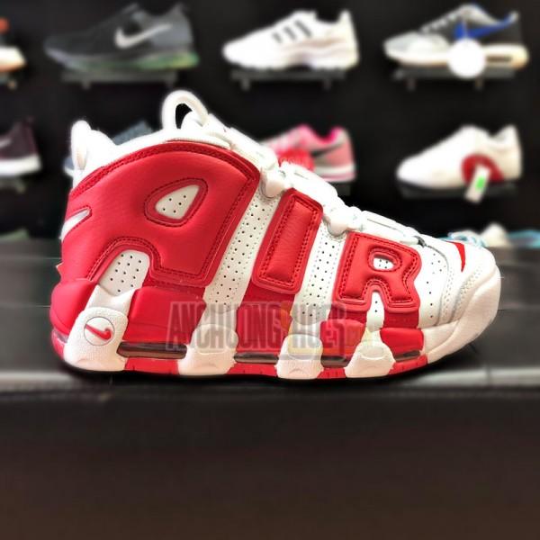 Giày Nike Air More Uptempo Trắng Đỏ