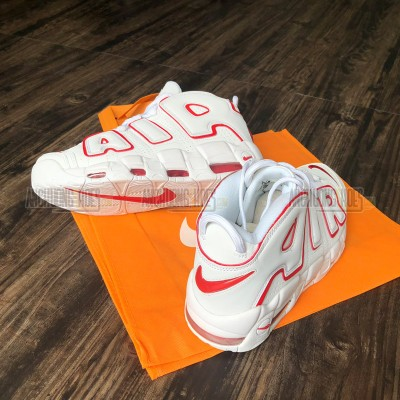 Giày Nike Air More Uptempo White Red