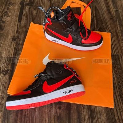 Giày Off White X Nike Air Jordan Đen