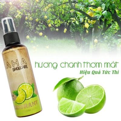 Xịt Khử Mùi Giày Hương Chanh