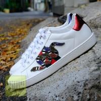 Giày Gucci Sneaker Rắn Đính Đá