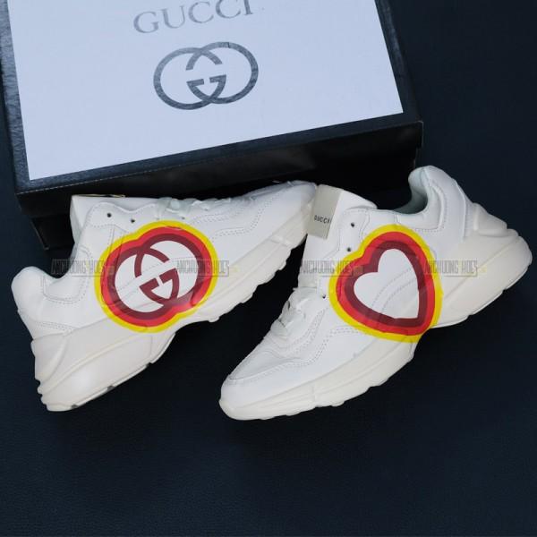 Giày Sneakers Gucci Rhyton Trái Tim