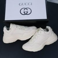 Giày Sneakers Gucci Rhyton Kem Trơn