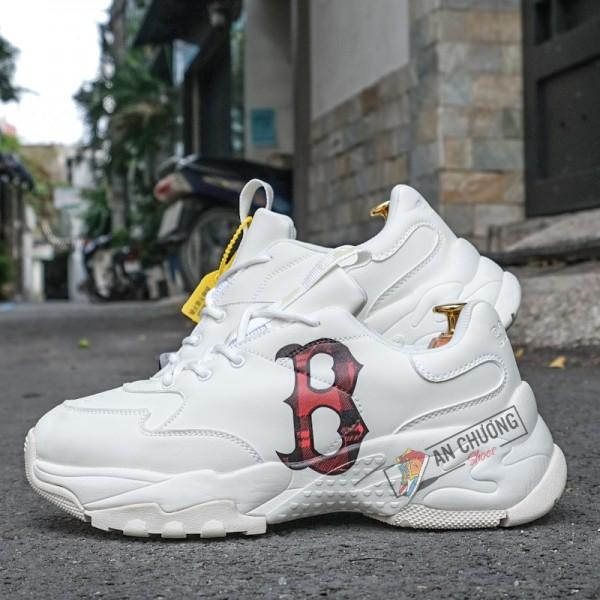 Giày Sneaker MLB BigBall Chunky Check Boston Red Sox