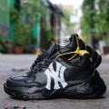 Giày Sneaker MLB Big Ball Chunky Mickey NewYork AllBlack