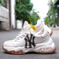 Giày Sneaker MLB NY Chữ Đen