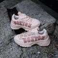 Giày Sneaker MLB Big Ball Chunky P Boston Red Sox Pink