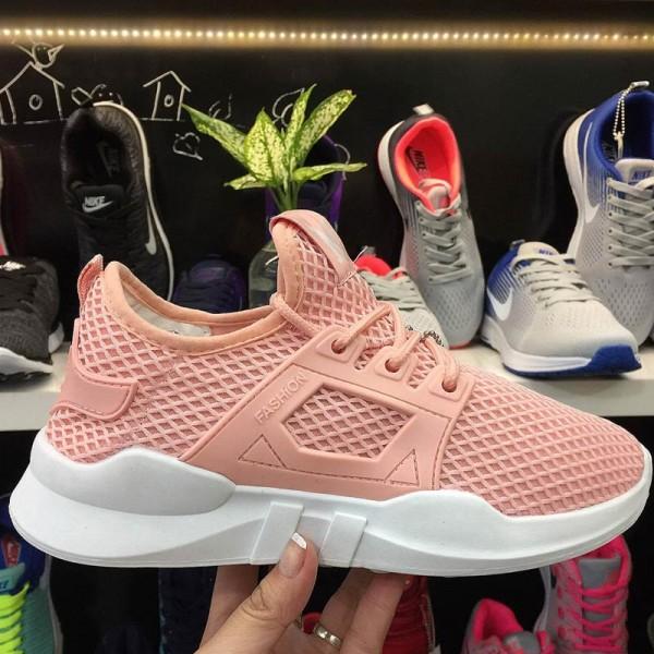 Giày Thời Trang M Fashion Lưới Hồng