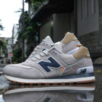 Giày New Balance 574 Grey Blue