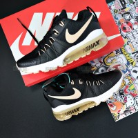 Giày Nike Airmax 2019 Black Gold