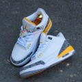 Giày Nike Air Jordan 3 Retro Laser Orange