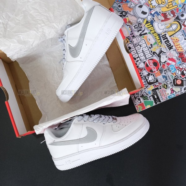 Giày Nike Air Force 1 Low White Phản Quang