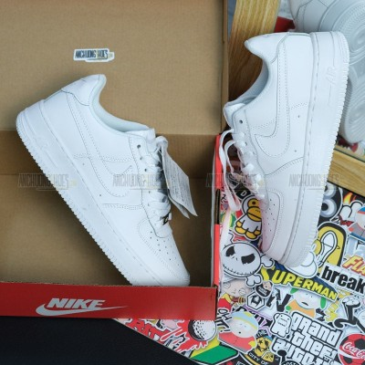 Giày Nike Air Force Low White SF