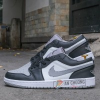 Giày Nike Air Jordan 1 Low Shadow Smoke Grey (Rep)