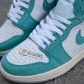 Giày Nike Air Jordan 1 High Turbo Green (Rep)