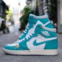 Giày Nike Air Jordan 1 High Turbo Green (Rep)