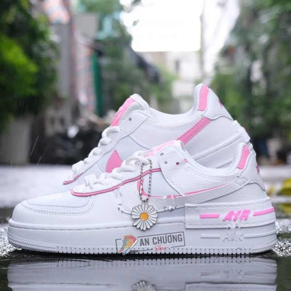 Giày Nike Air Force 1 Shadow White Magic Flamingo
