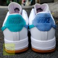 Giày Nike Air Force 1 Vandalized Xanh