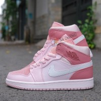 Giày Nike Air Jordan 1 Mid Digital Pink
