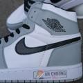 Giày Nike Air Jordan 1 Mid Light Smoke Grey