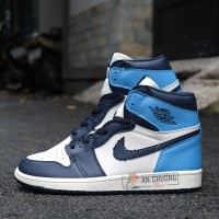 "Giày Nike Air Jordan 1 Retro High OG ""UNC"" (Rep)"