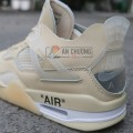 Giày Nike Air Jordan 4 Retro Off White Sail
