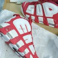Giày Nike Air More Uptempo Supreme Red