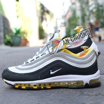 Giày Nike AirMax 97 Black Yellow