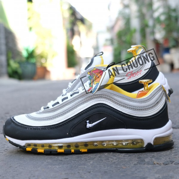 Giày Nike AirMax 97 Black Yellow